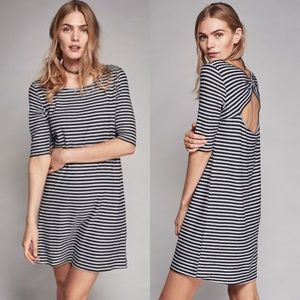 Free People Frenchie Stripe T-Shirt Mini Dress